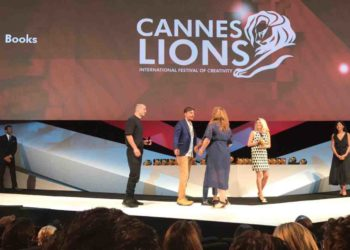 New Moment wins its fourth Lion – and it's a Gold! 1