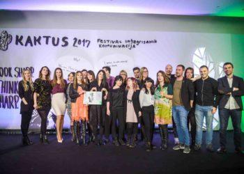 Kaktus 2017: Vip Mobile Oglašivač godine; McCann treću godinu za redom Agencija godine