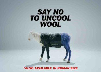 Šik ovca u Diesel odjeći u borbi protiv ne-cool vune 1