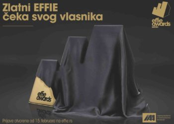 Otvorena sezona Effie Awards 2018