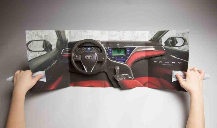 Toyota kreirala interaktivni prilog za časopis koji prati otkucaje srca čitaoca 4