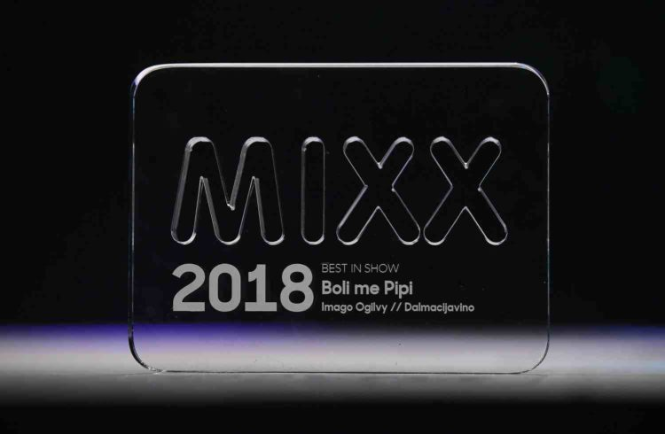 """MIXX Best in Show for """"Pipi"""" campaign by Dalmacijavino and Imago Ogilvy"""