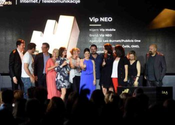 Budi NEO prva kampanja u Srbiji koja se okitila zlatnom Effie nagradom 1