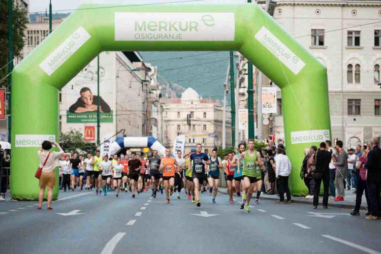 Druga noćna utrka Merkur Run4lifestyle večeras u Sarajevu