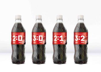 Coca-Cola Croatia and McCann Zagreb unveil limited edition Coca-Cola packaging to celebrate victories in Russia 2