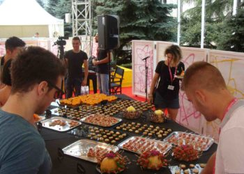 Argeta serves breakfast with creativity and passion for the film