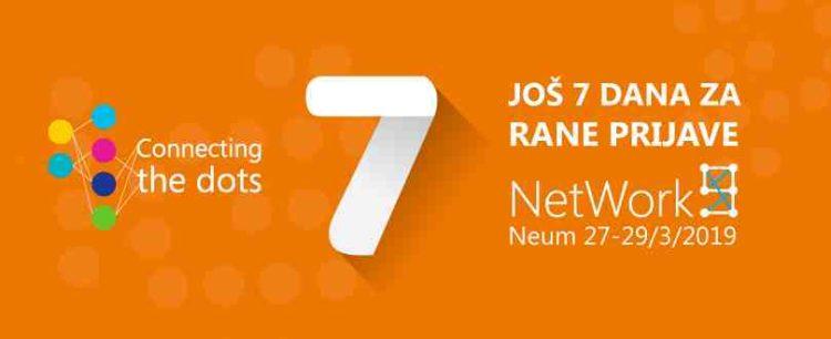 Još samo sedam dana za rane prijave na NetWork 9 konferenciju
