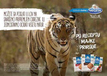 Angažirali tigra, zeca i dalmatinske kokoši u kampanji za Vegetu Natur