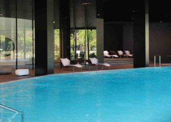 You can watch lectures of Days of Communication from a pool