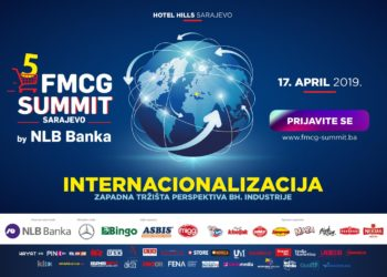 Applications for the 5th FMCG Summit by NLB Bank in Sarajevo open